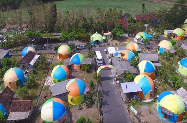 Jangan Lupa Main Ke Desa Wisata Teletubbies Jika Singgah di Yogyakarta
